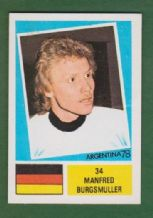 West Germany Manfred Burgsmuller Borussia Dortmund 34